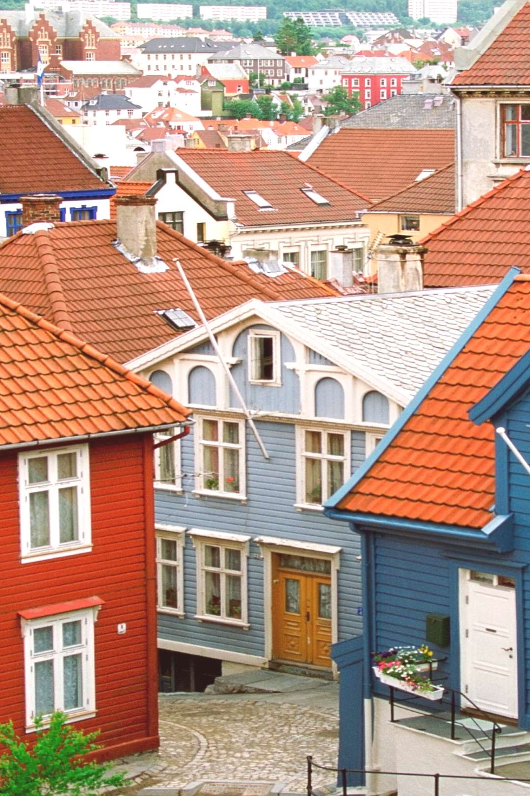 12 Most Colorful Places in Europe Bergen, Norway | From a colorful Nordic village by the water to a