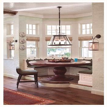 114 reference of Kitchen Dining Room Combo dark cabinets Breakfast nooks Kitchen Dining Room Combo