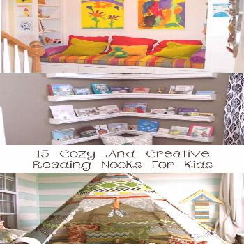 15 Cozy And Creative Reading Nooks For Kids - Decor Dıy   kids rugs playroom reading nooks