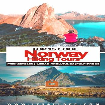 Best Tours For Norway Hiking Trails - The Coolest Tours Trekking Around Fjords In Norway Love the o