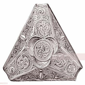 Celtic Ornament Found In Norway Illustration ,