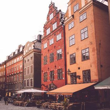 Chasing Fall Colors from Sweden to Norway - Find Us Lost Old town Gamla Stan in Stockholm, Sweden -