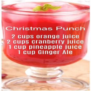 Christmas Punch Recipe Non Alcoholic Christmas Punch drink recipe