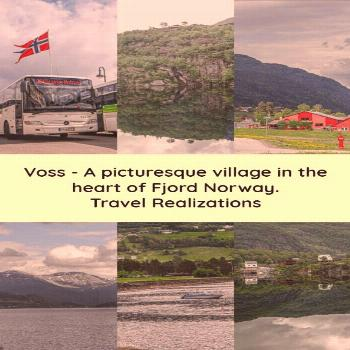 Exuberance of Nature in Voss, Norway Voss is a picturesque village in the heart of Fjord Norway. It