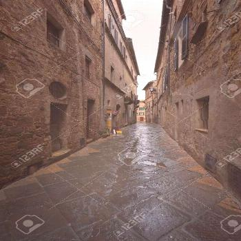 Fantastic nooks and crannies in Pienza. Pienza is the medieval Italian village in Tuscany. In 1996,