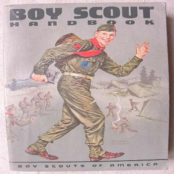 FREE PDF BOY SCOUT HANDBOOK 1964 Edition with Norman Rockwell Cover Art, by: Boys Scouts Of America