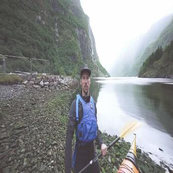 Going Offline: Exploring the Epic Fjords in & Trip  We went on an epic (and yes, I say epic around
