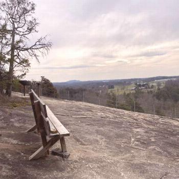 Hike Straight Through A Giant Rock Formation On Hollow Rock Trail In North Carolina