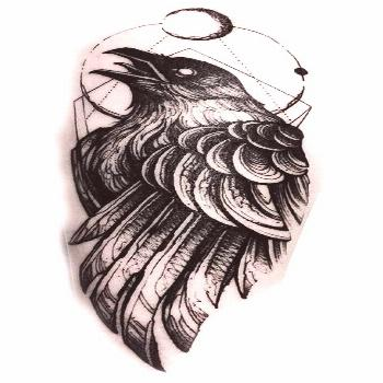 Of all the Norse/Viking symbols, the twin ravens were one of the most powerful symbols that the Vik