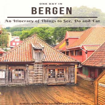 One Day in Bergen: An Itinerary of Things to See Do and Eat   Gallop Around The Globe -