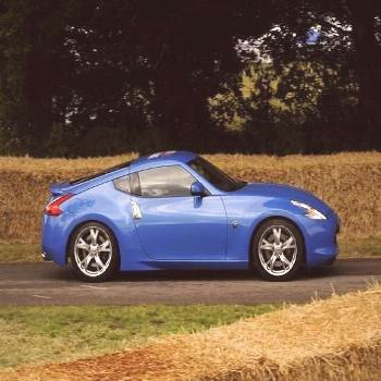 Photographic Print: 2009 Nissan 370Z at 2009 Goodwood Festival of Speed : 12x9in