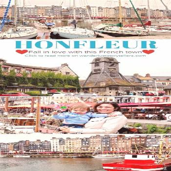 Reasons why you will fall in love with Honfleur Normandy in France. It must be one of the cutest Fr