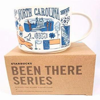 Starbucks Been There Series Collection North Carolina Coffee