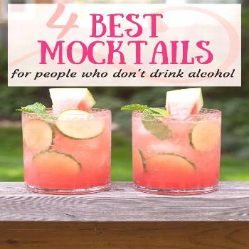 The Best Mocktails For People Who Don't Drink Alcohol.