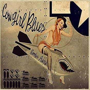 Ugtell Funny Wall Decor Cowgirl Blues Metal Sign, WWII