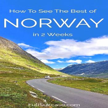 Ultimate Norway Itinerary: 2 Weeks Along Best Fjords -  See the best of Norway with this 2-week roa