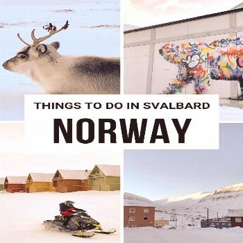 Your Northernmost Trip: Things To Do In Svalbard, Norway - Chantae Was Here You'll hear the word