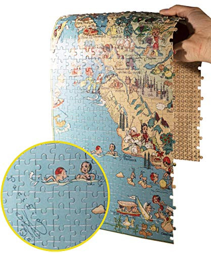 North Carolina Wooden Map Jigsaw Puzzle Toys for Adults USA