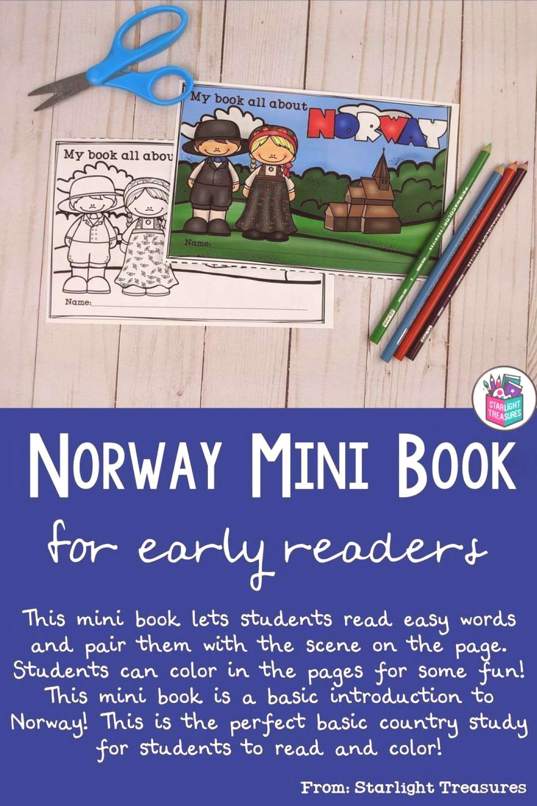 Norway Mini Book for Early Readers A Country Study Norway Mini Book for Early Readers A Country S