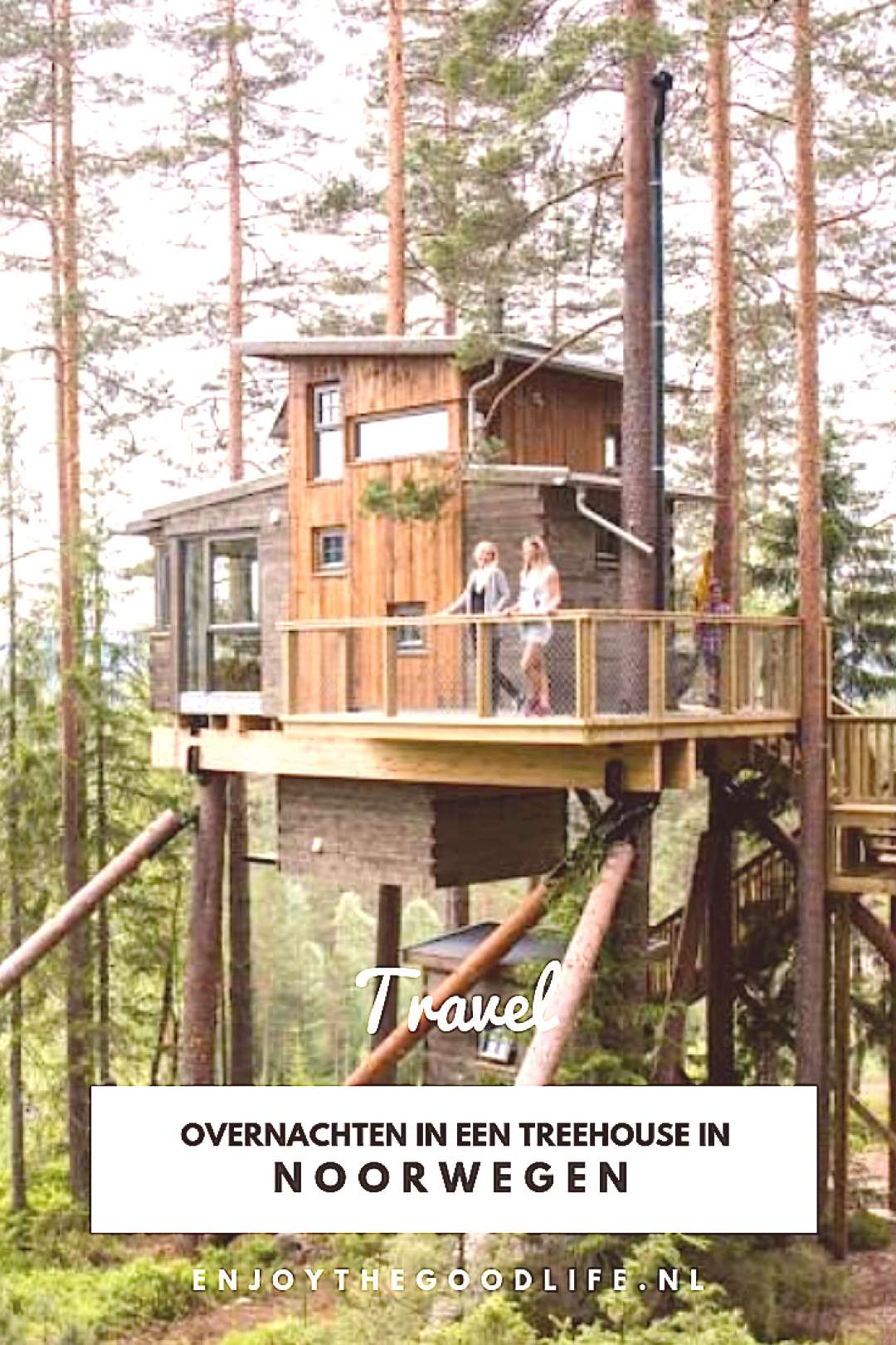 Spend the night in a Treehouse in Norway - ENJOY! The Good Life - Spend the night in a Treehouse i