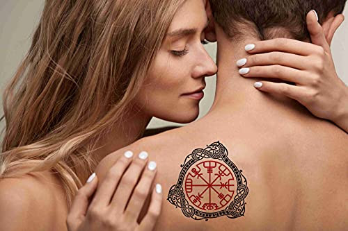 Tattoo Design Six Sheets Temporary Tattoos for Women Adults
