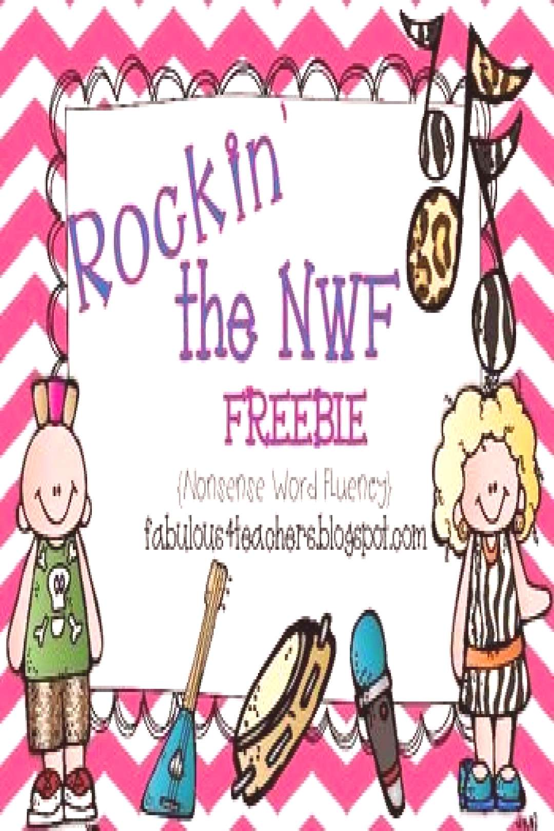 This is the perfect freebie to help with NWF (Nonsense Word Fluency) on the Dibels test. Your stude